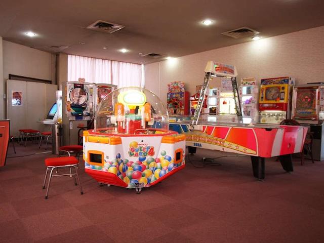 三朝温泉 三朝ロイヤルホテル ゲームコーナー