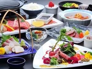 小豆島温泉 オーキドホテル 夕食一例