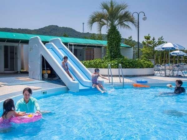 小豆島温泉 ベイリゾートホテル小豆島 プール