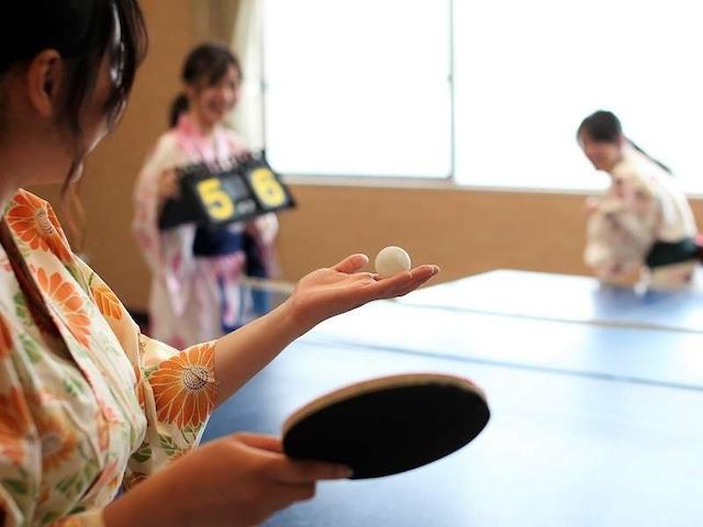 小豆島温泉 ベイリゾートホテル小豆島 卓球