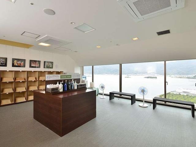 小豆島温泉 ベイリゾートホテル小豆島 脱衣場