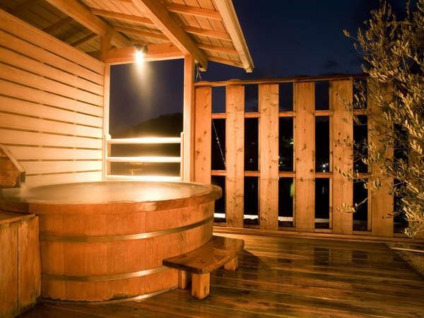 小豆島温泉 ベイリゾートホテル小豆島 個室露天風呂 檜