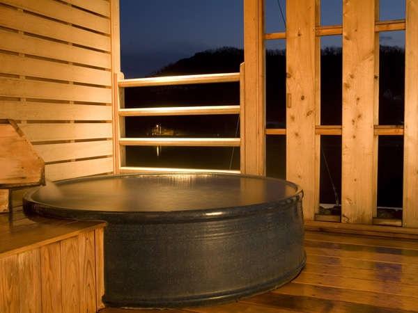 小豆島温泉 ベイリゾートホテル小豆島 個室露天風呂 陶器