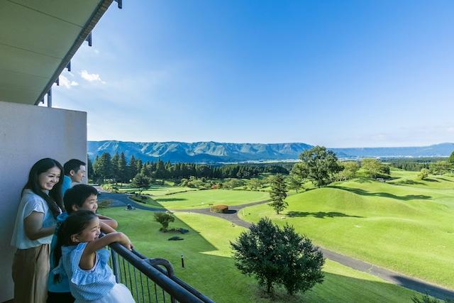 米塚天然温泉 阿蘇リゾートグランヴィリオホテル お部屋からの眺望