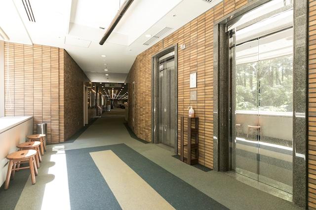 米塚天然温泉 阿蘇リゾートグランヴィリオホテル エレベーターホール