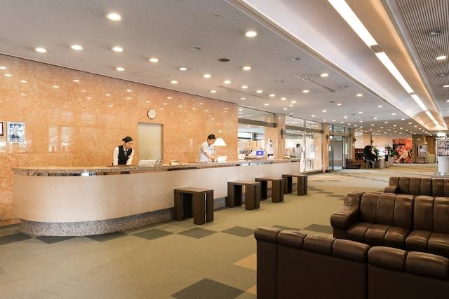 米塚天然温泉 阿蘇リゾートグランヴィリオホテル フロント