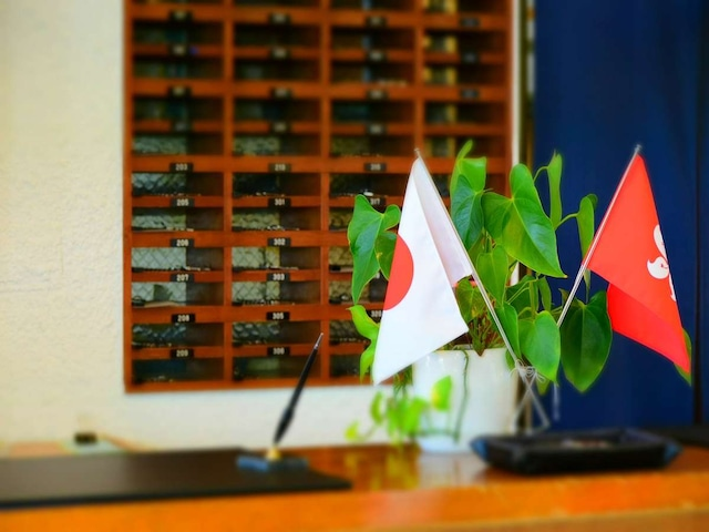 小豆島温泉 ホテルグリーンプラザ小豆島 フロント