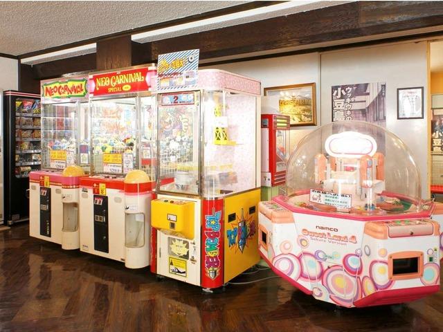 小豆島温泉 ホテルグリーンプラザ小豆島 ゲームコーナー