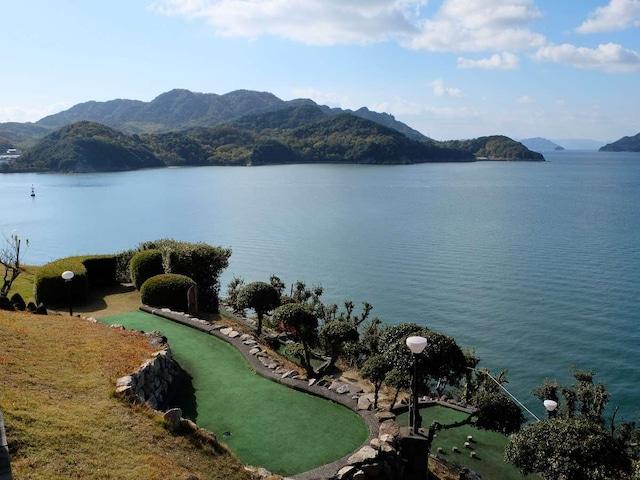 小豆島温泉 ホテルグリーンプラザ小豆島 パターゴルフ