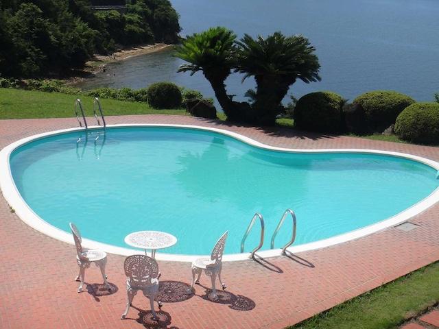 小豆島温泉 ホテルグリーンプラザ小豆島 プール