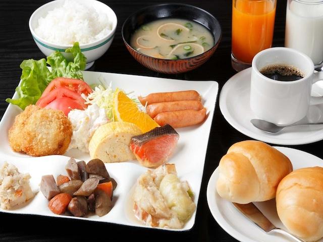 小豆島温泉 ホテルグリーンプラザ小豆島 朝食