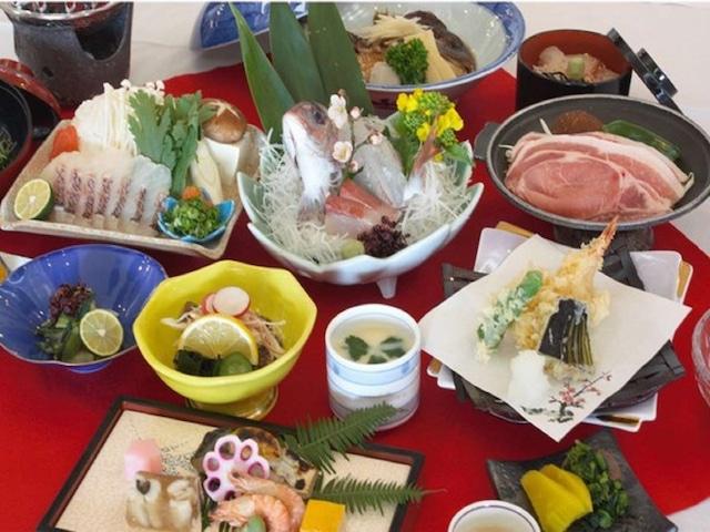 小豆島温泉 ホテルグリーンプラザ小豆島 夕食