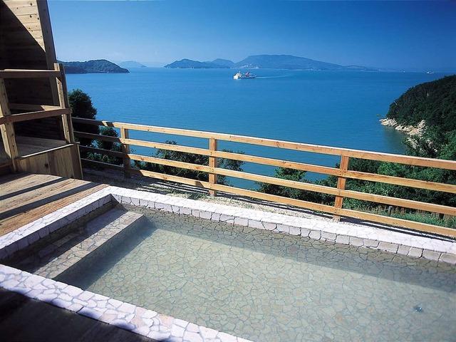 小豆島温泉 ホテルグリーンプラザ小豆島 男性用露天風呂