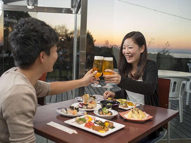 オリビアン小豆島 夕陽ヶ丘ホテル 夕食バイキング