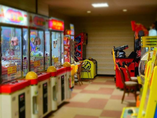オリーブ温泉 小豆島グランドホテル水明 ゲームコーナー