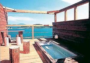 オリーブ温泉 小豆島グランドホテル水明 展望露天風呂