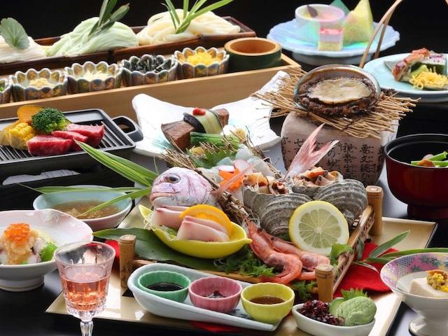 小豆島温泉 小豆島国際ホテル 夕食会席イメージ