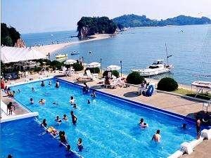 小豆島温泉 小豆島国際ホテル 野外プール