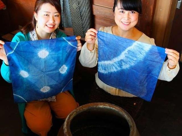 鳴門温泉 アオアヲナルトリゾート 藍染体験
