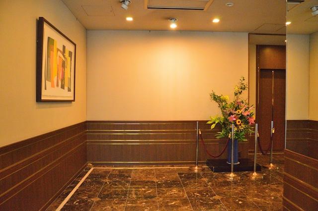 ホテルアセント福岡 エレベーターホール
