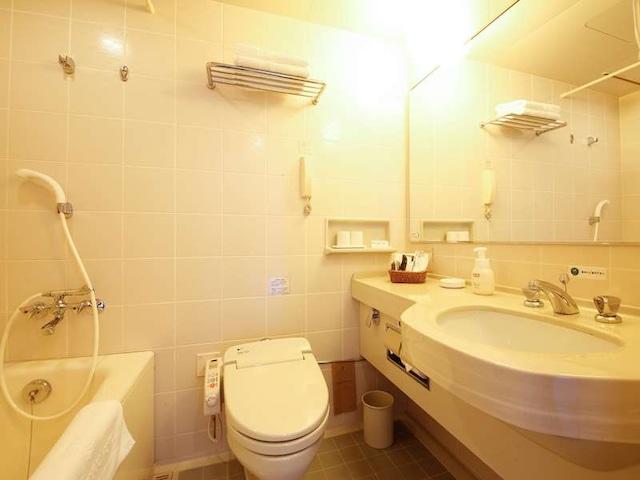 徳島グランヴィリオホテル ユニットバス