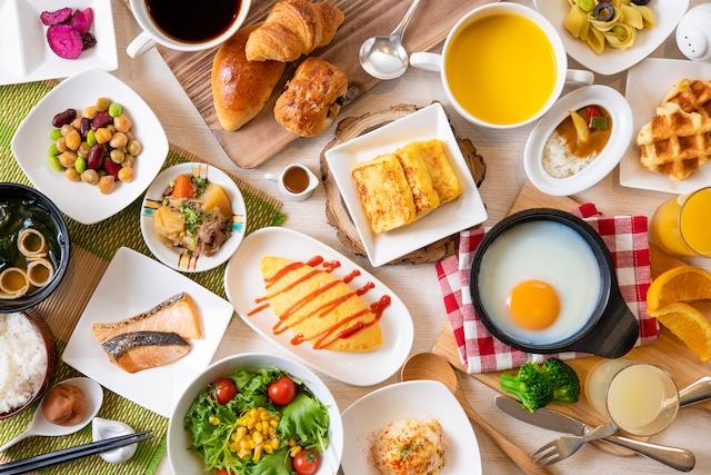 【舞浜】ホテルオークラ東京ベイ 朝食イメージ(洋食)