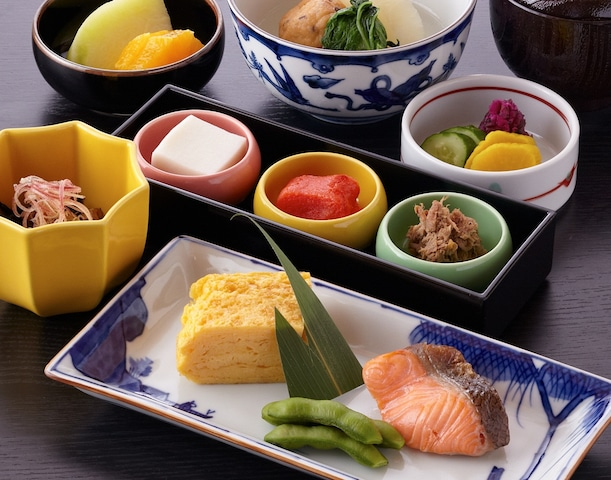 ホテルオークラ東京ベイ 朝食和定食(イメージ)
