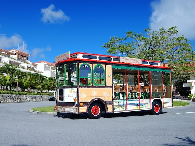 カヌチャベイホテル&ヴィラズ トロリーバス