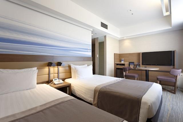 【羽田】羽田エクセルホテル東急 トリプルルーム