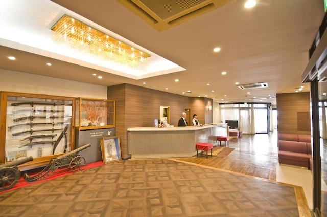 種子島あらきホテル フロント
