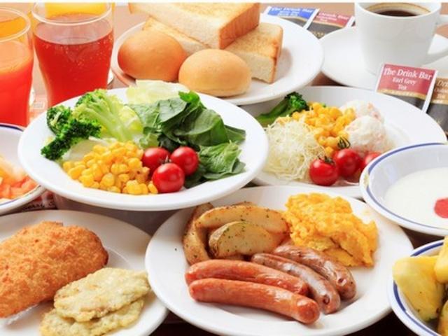 【茅場町】スマイルホテル東京日本橋 朝食イメージ(洋食)