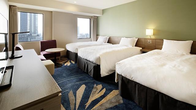 サンシャインシティプリンスホテル シティフロアトリプルルーム