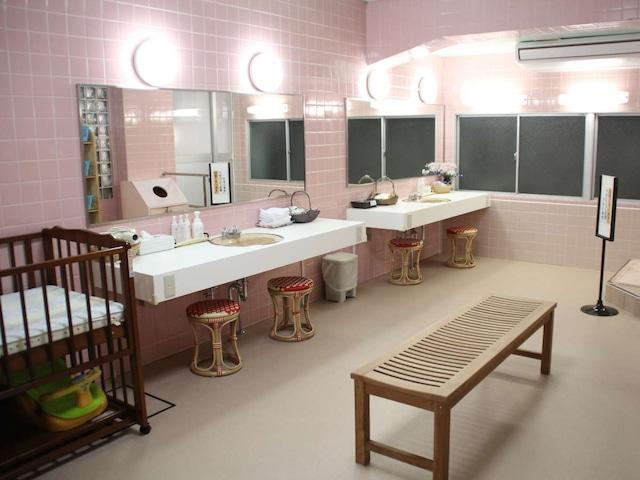 リバーサイドホテル松栄 女性脱衣所