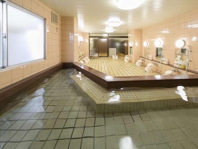 リバーサイドホテル松栄 男性大浴場