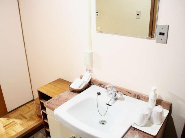 リバーサイドホテル松栄 洗面台
