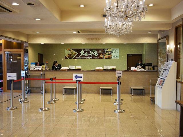 高知パレスホテル フロント