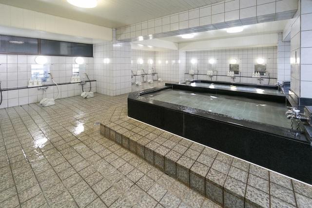 松栄 第二別館 男性大浴場