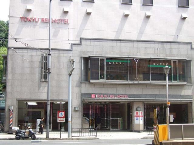 松山東急REIホテル バス停(道路挟んで向かい)