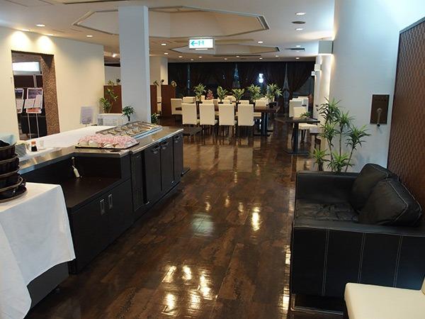 ホテルリブマックス伊予三島 朝食会場