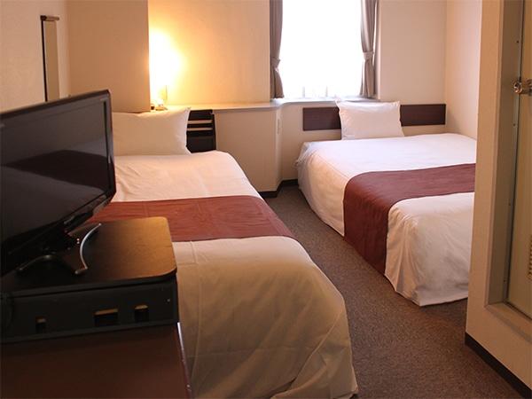 ホテルリブマックス伊予三島 ツインルーム 20㎡