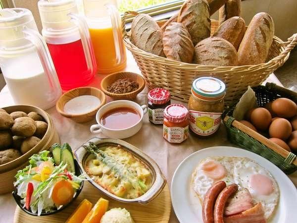 リゾートインノースカントリー 朝食ビュッフェ
