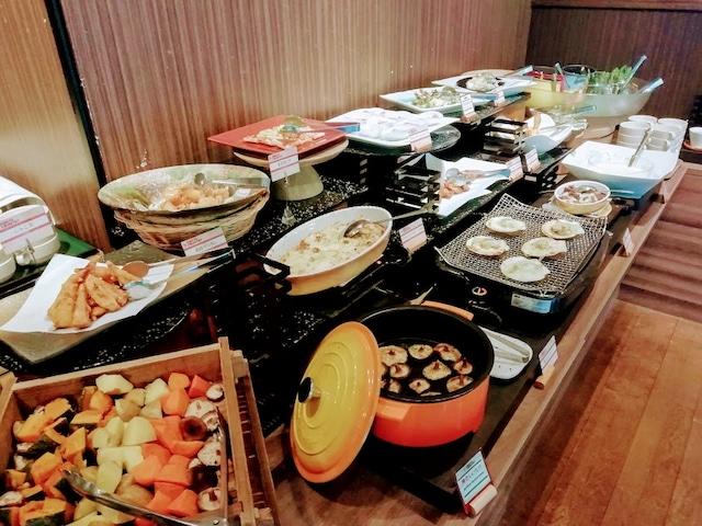 リゾートインノースカントリー 夕食ビュッフェ