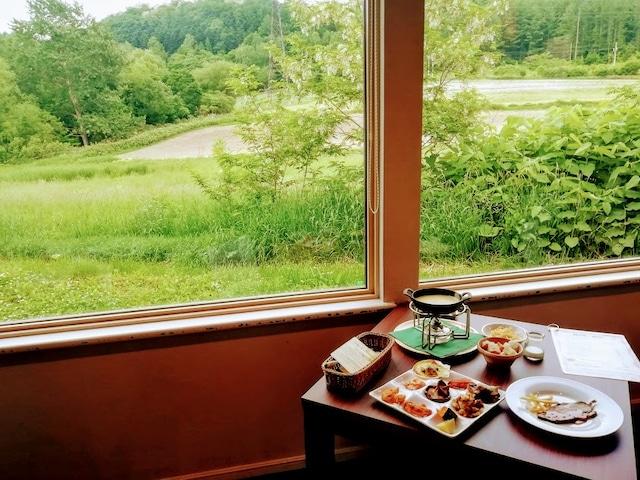 リゾートインノースカントリー 夕食ビュッフェ&チーズフォンデュセット