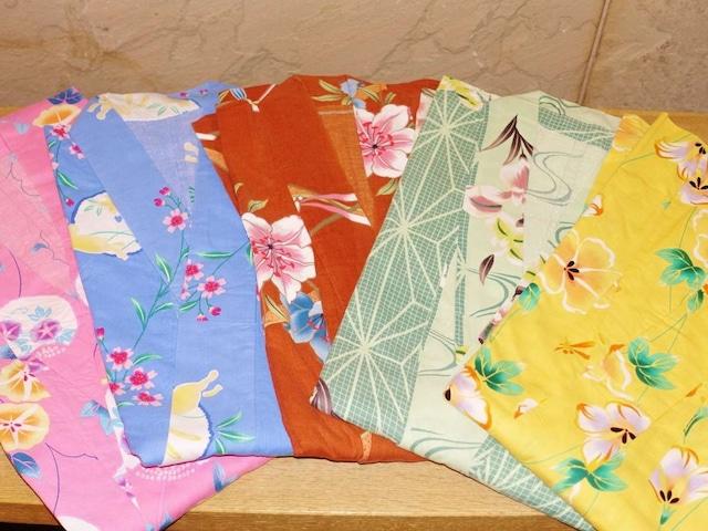浅虫温泉 南部屋 海扇閣 色浴衣