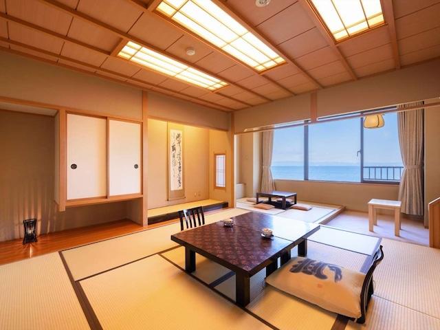浅虫温泉 南部屋 海扇閣 和室【海側 10畳+4.5畳】