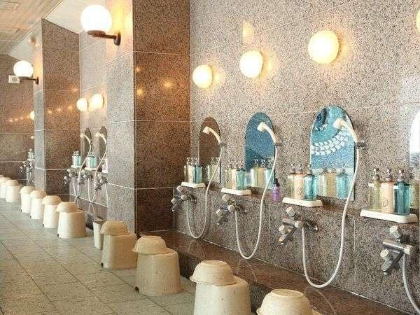 浅虫温泉 南部屋 海扇閣 洗い場