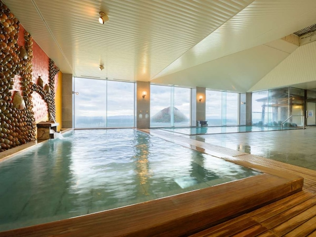 浅虫温泉 南部屋 海扇閣 大浴場