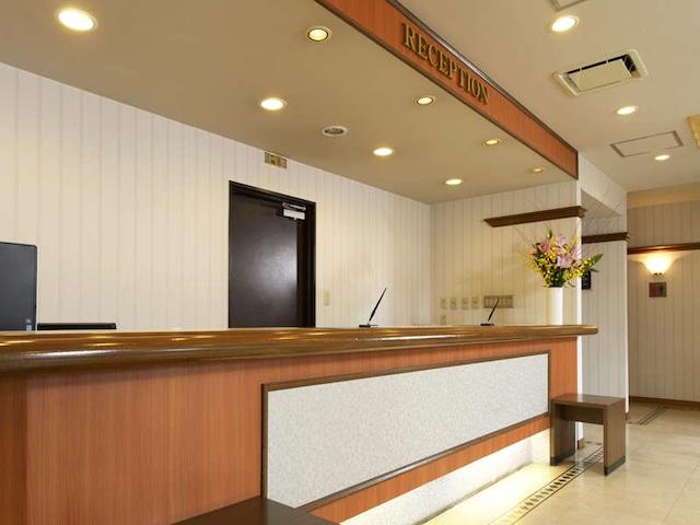 ホテルパールシティ八戸 フロント