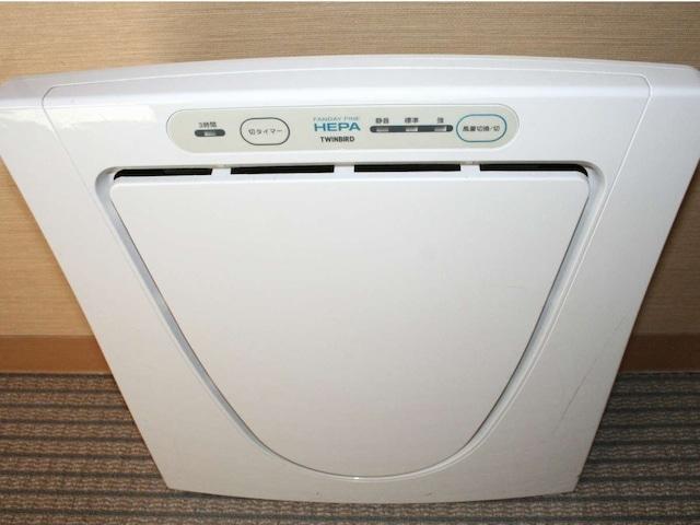スマイルホテル八戸 空気清浄機