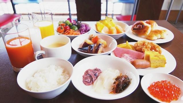 ホテル函館ロイヤル 朝食メニュー 一例